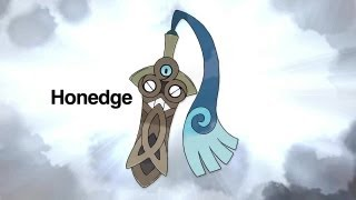 Pokemon X and Pokemon Y Honedge Trailer [New Pokemon]
