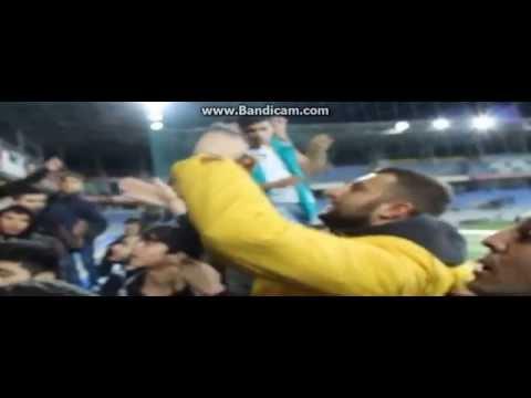 Neftchi fans vs Saša Stamenković