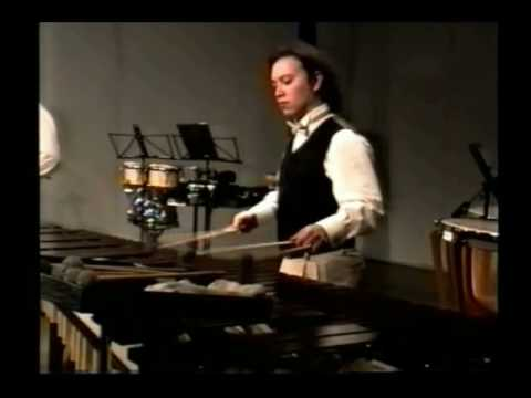 Divertimento para Marimba y Saxofón alto (1ra parte) del compositor Akira Yuyama