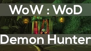 Demon Hunter Class In Warlords Of Draenor New WoW Expansion