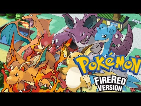 Pokémon Fire Red My Team  YouTube