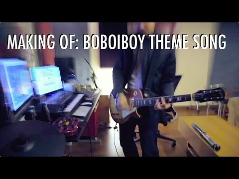BoBoiBoy: Lagu Tema / Theme Song - The Making Of