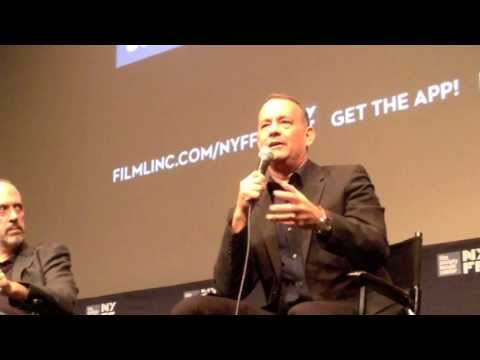 Tom hanks on captain phillips and acting at the 51st nyff - Saloni serie indienne ...