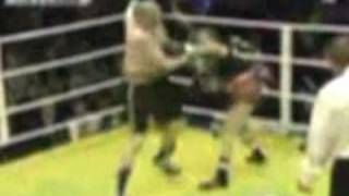 Chuck Liddell VS Regina Halmich (MAN VS WOMAN FIGHT)