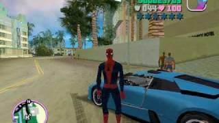 GTA VICE CITY VENON & SPIDERMAN