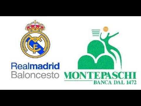 Resumen de cuartos Real Madrid-Montepaschi Siena