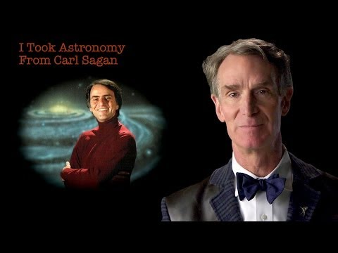 Bill Nye: I Took Astronomy From Carl Sagan