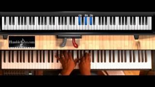 """Amazing"" Ricky Dillard Easy Piano Tutorial Humblekeyz"