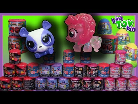 Our BIGGEST Mash Ems Fash Ems Opening EVER! My Little Pony, LPS, Monster High + MORE!!