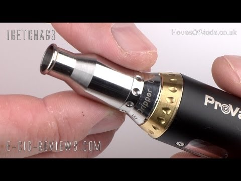 REVIEW OF THE eBARON DRIPPING ATOMISER FOR ELECTRONIC CIGARETTES