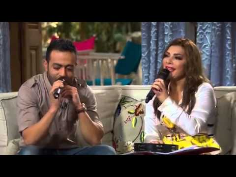 Tamer Ashour with Asala Teslam Live from Soula show -         