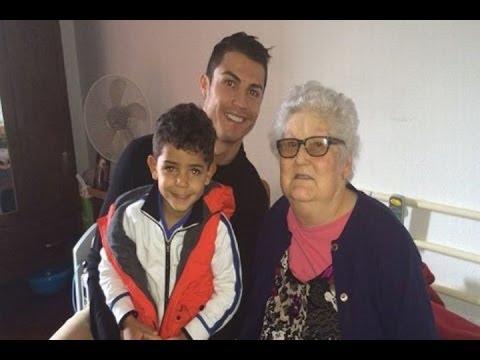 Cristiano Ronaldo despide a su abuela