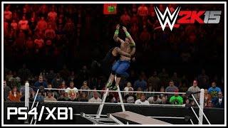 WWE 2K15 PS4/XB1 Roman Reigns DESTROYS John Cena With A