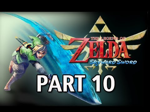 Legend of Zelda Skyward Sword - Walkthrough Part 10 Skyview Temple Let's Play  HD