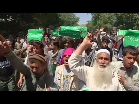 Protesters claim fraud in Afghan poll