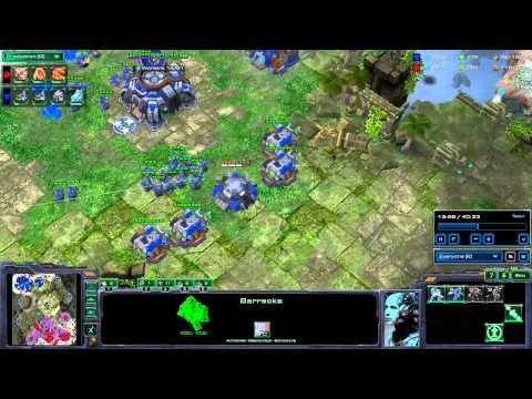 Got Talent #2 - TvZ TrainHeart vs lllllllllll attacchi sul creep ma zerg non countera.