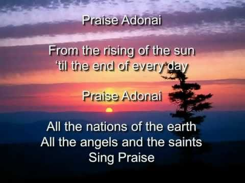 Paul Baloche - Praise Adonai (Lyric Video) - YouTube