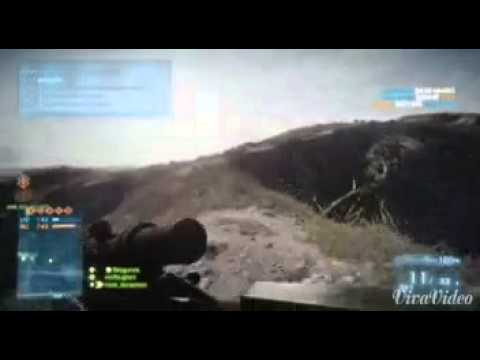 sniping in bf3 kharg islands.664m headshot.