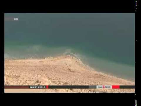 Historic project to slow shrinking of Dead Sea
