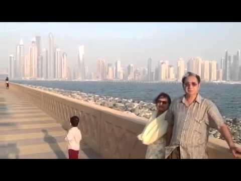 Taj, Maher in Dubai, may,