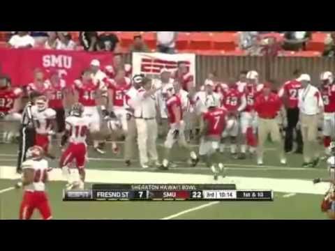 2012 Hawaii Bowl Champions - SMU Football Game Highlights