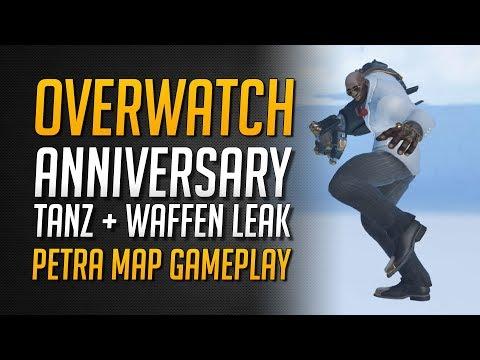 ANNIVERSARY TÄNZE + WAFFEN LEAK | Petra Map Gameplay Leak ★ Overwatch Deutsch