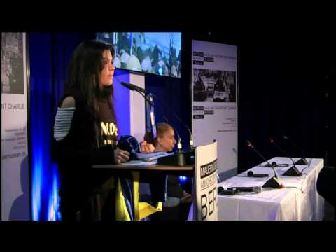 Ruslana's press conference at the Berlin Wall Museum | 01.02.2014