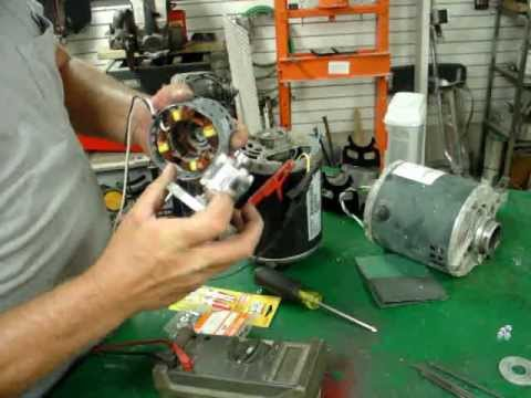 Ac Induction Motor Conversion To Ac Permanent Magnet