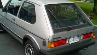 1983 VW Rabbit GTI cold start and walkaround videos
