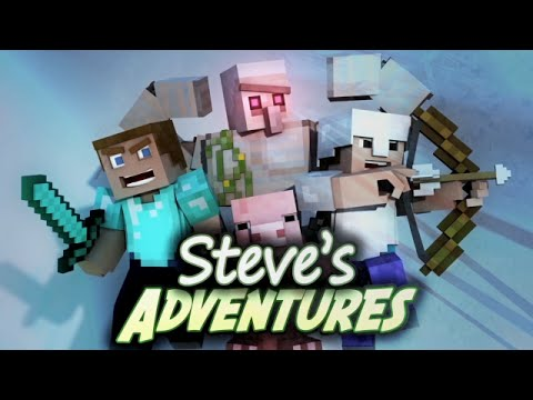 Minecraft Movie Part 1 - Steve's Adventures Season 1