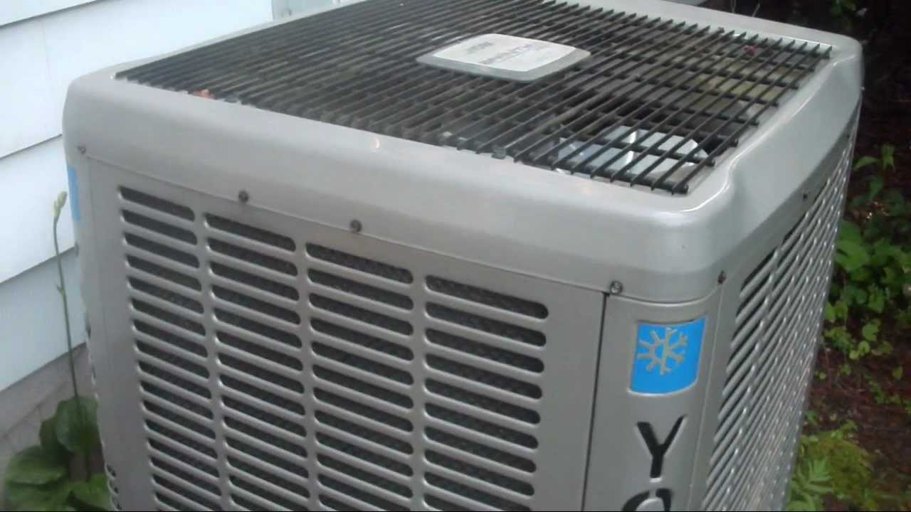 York 5 Ton Air Conditioner York Affinity Series 3S (13 SEER) 3.5-ton central air ...
