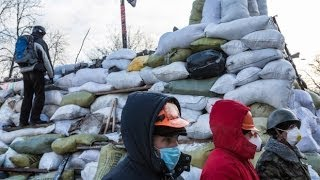 (GRAPHIC) Protesters Shot In Ukraine Before Truce Declared