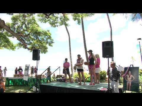 Women's Top Three Finishers   2011 Waikiki Rough Water Swim
