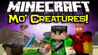 Minecraft MO' CREATURES MOD Spotlight! Epic New Mobs