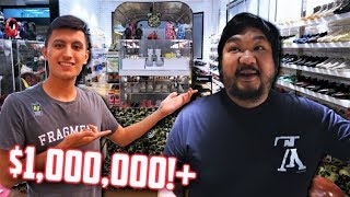 MOST EXPENSIVE SNEAKER and HYPEBEAST COLLECTION! DJ BIGBOY CHENG $1,000,000 COLLECTION!