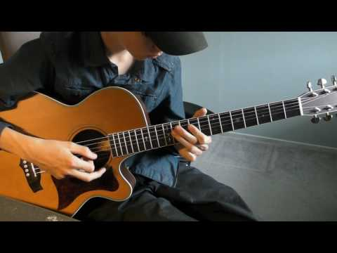 Lenny acoustic guitar cover - Tribute to Stevie Ray Vaughan SRV