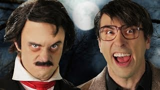 Stephen King vs Edgar Allan Poe. Epic Rap Battles of History