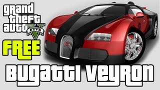 GTA V How To Get Bugatti Veyron (Adder) For FREE Fastest