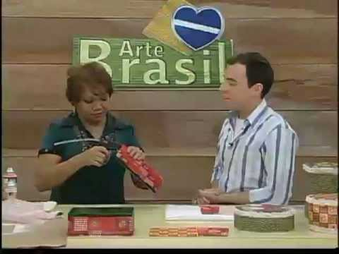 ARTE BRASIL - CLAUDIA MARIA, ANGELA ROCHA E MAMIKO YAMASHITA (02/01/2012)