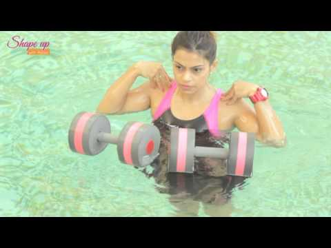Aqua Aerobics Exercises to Get Washboard Abs