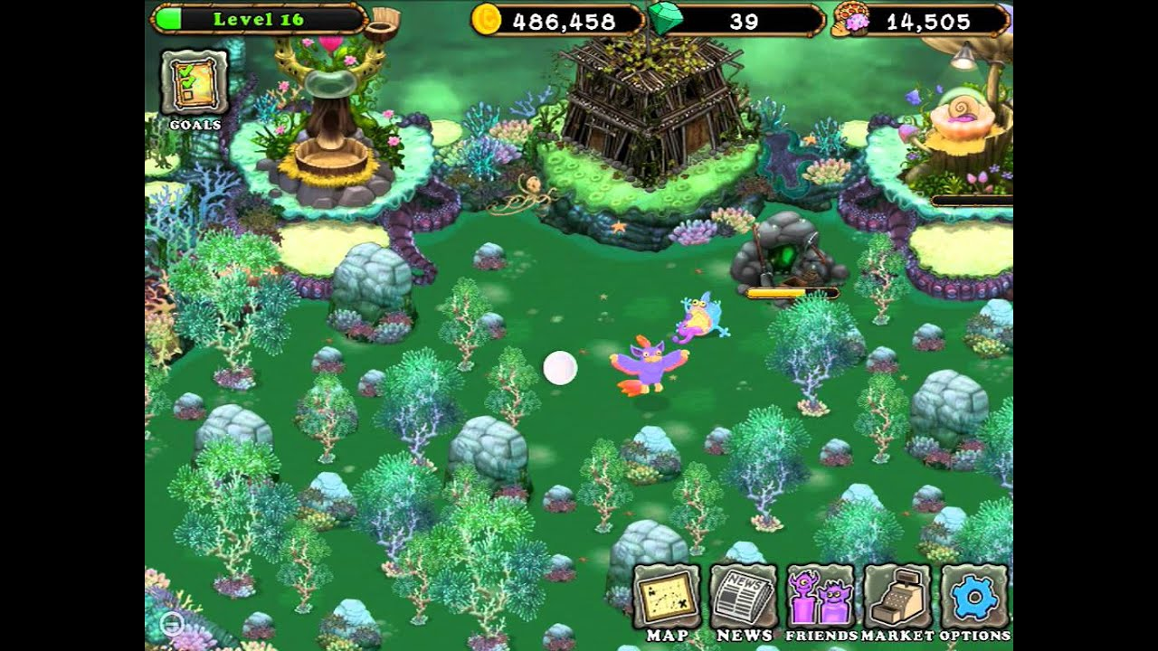 How to breed a shellbeat in my singing monsters. - YouTube