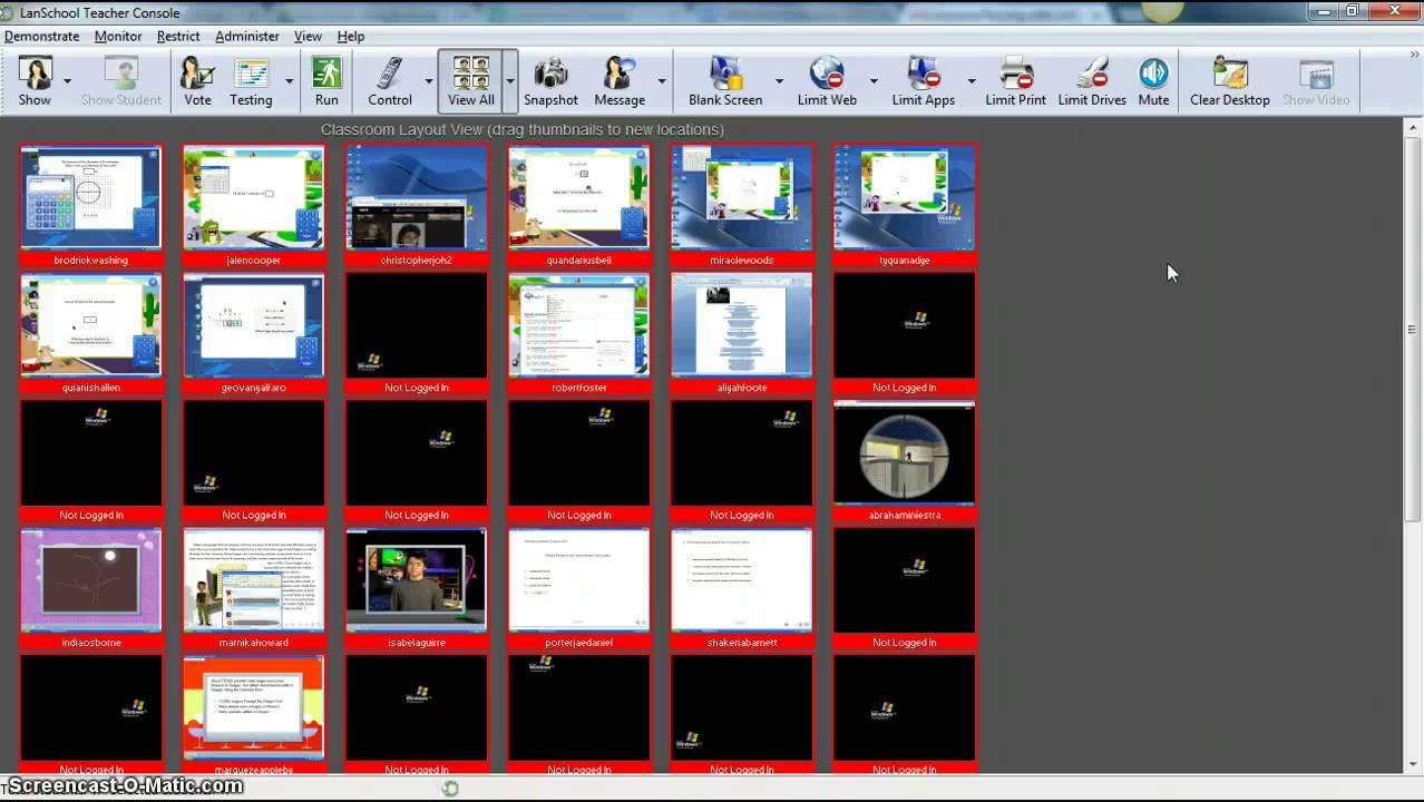 Google Classroom Screen Share
