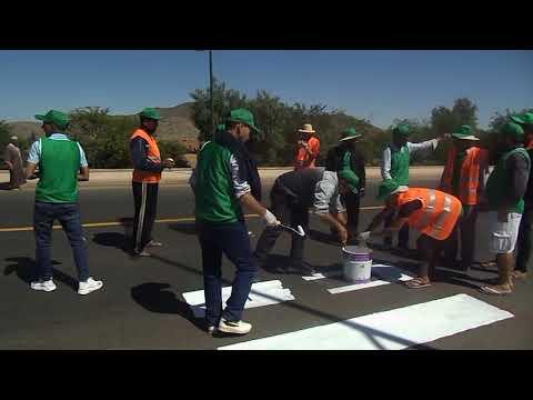 حملة بيئية محلية من تنظيم جمعية التحدي للتنمية والبيئة بمنطقة رأس العين إقليم الرحامنة جهة مراكش آسفي