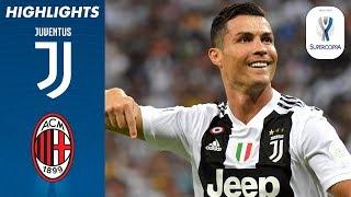 16/01/2019 - Supercoppa Italiana - Juventus-Milan 1-0, gli highlights