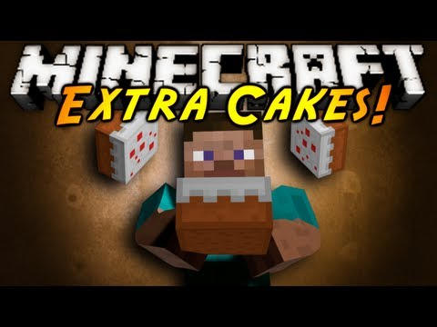 Minecraft Mod Showcase : EXTRA CAKES!, FROM CREEPER TO ENDER TO EVEN DIAMOND CAKE, EACH CAKE GIVES YOU A SPECIAL ABILITY! Now if only they had Butter cake.. Download the mod here! Tell em Sky sent...