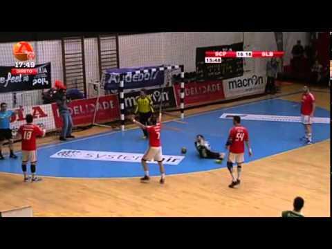 Andebol :: Sporting - 23 x Benfica - 22 de 2013/2014 Meia Final Taça de Portugal