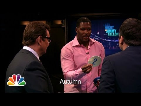 Catchphrase with Michael Strahan and Demi Lovato
