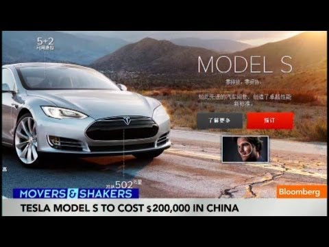 Elon Musk Charges Into China to Boost Tesla Sales