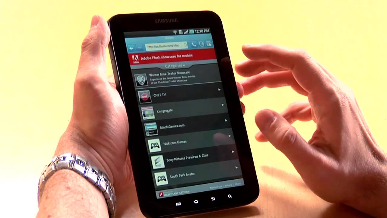 Adobe Flasch Player Android 4.1.1
