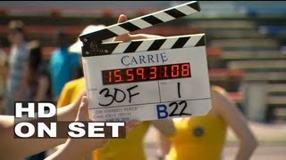 Carrie: Behind The Scenes Part 1 Of 3 (Broll) Chloë